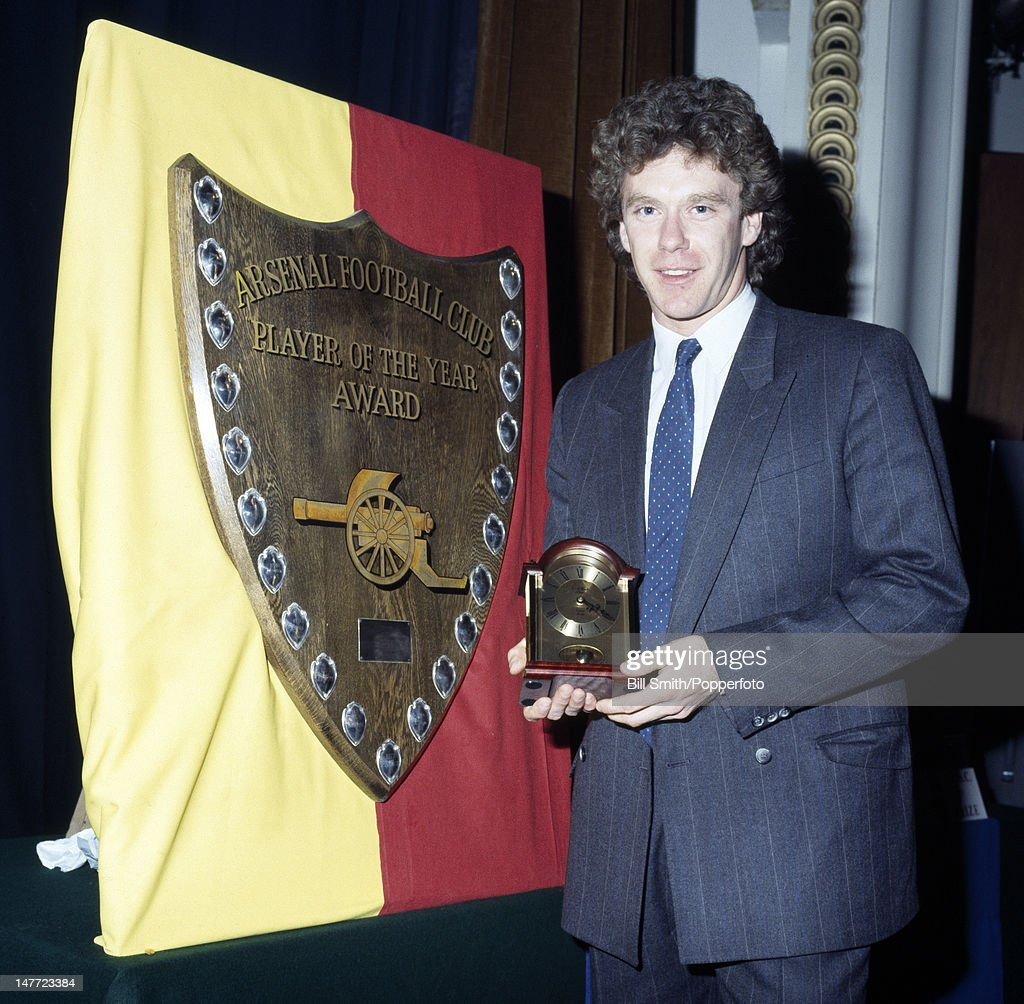 Tony Woodcock  -  Arsenal Player Of The Year : News Photo
