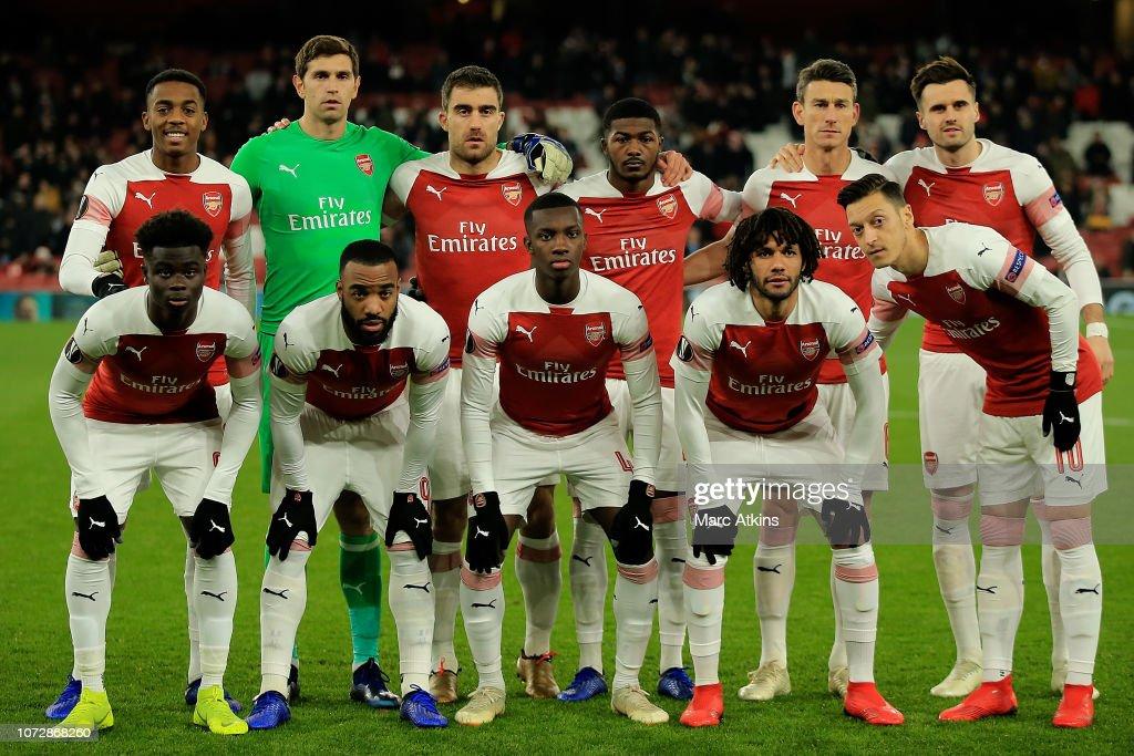Arsenal v Qarabag FK - UEFA Europa League - Group E : ニュース写真