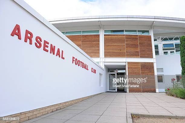 Arsenal training ground at London Colney on July 5 2016 in St Albans England