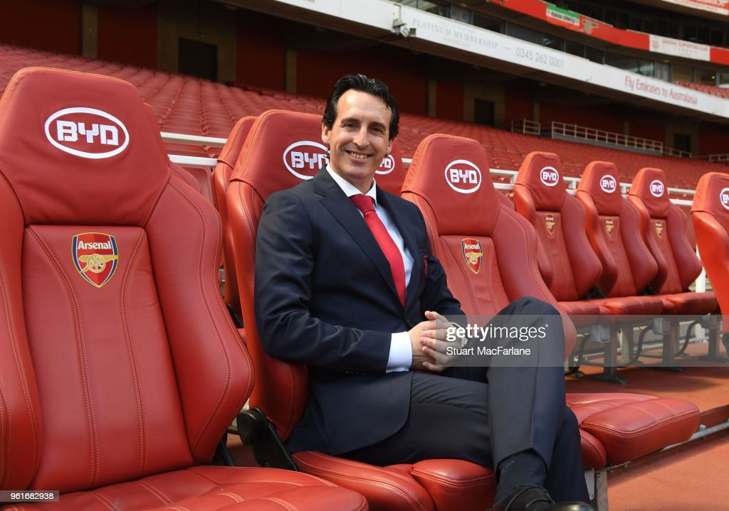 Arsenal Unveil New Head Coach Unai Emery : News Photo