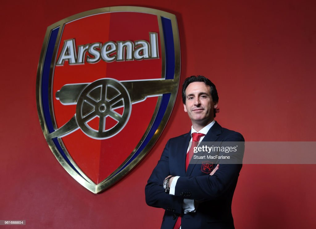 Arsenal Unveil New manager Unai Emery
