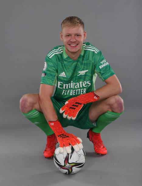 GBR: Arsenal Unveil New Signing Aaron Ramsdale