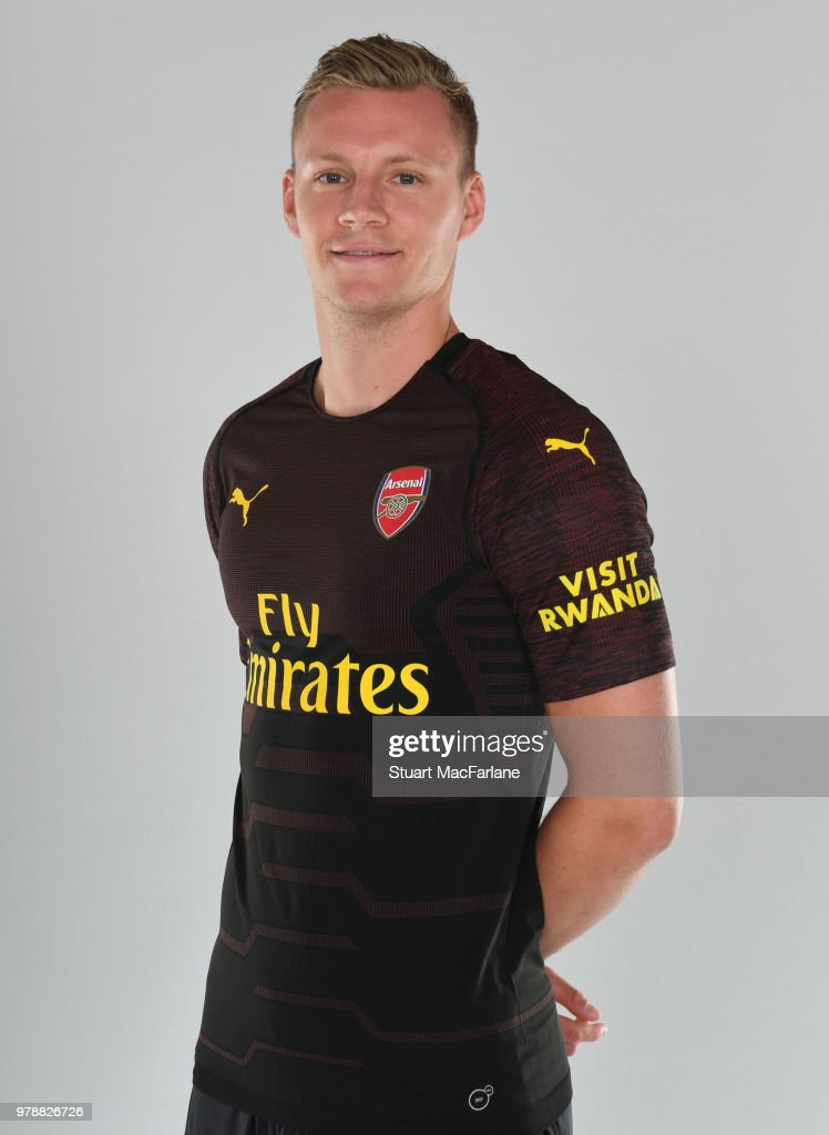Arsenal Unveil New Signing Bernd Leno : News Photo