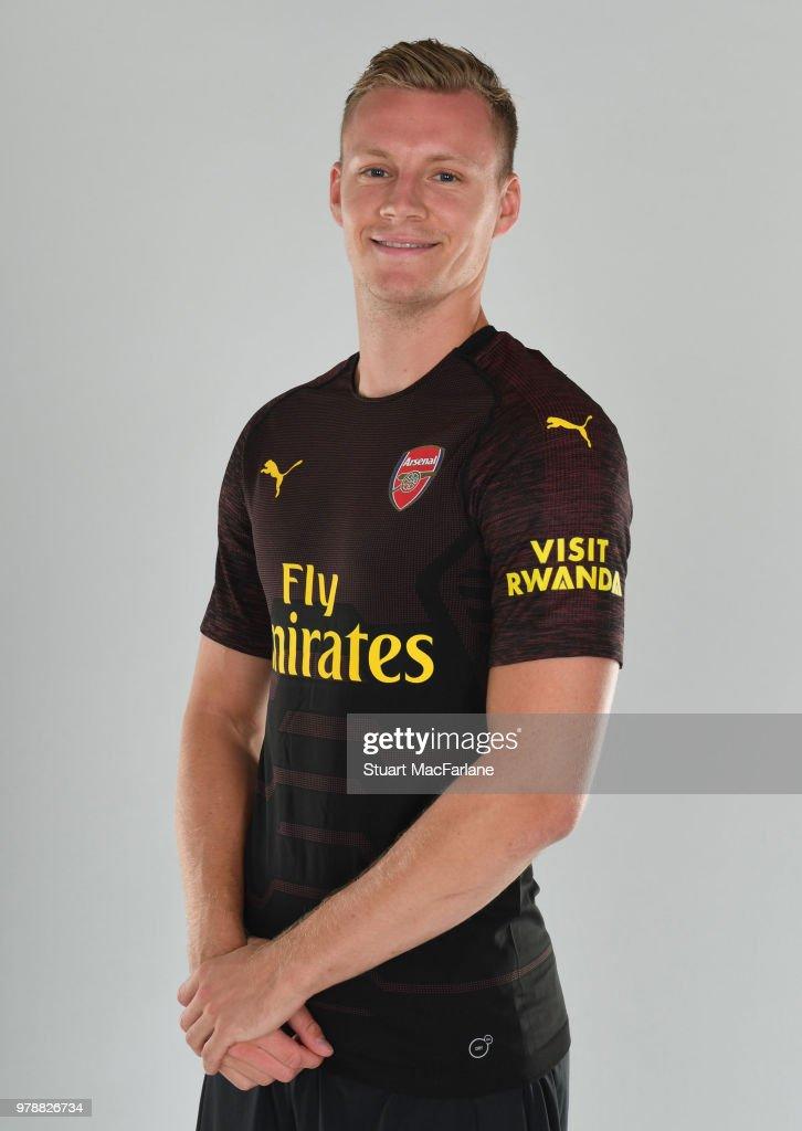 Arsenal Unveil New Signing Bernd Leno : News Photo