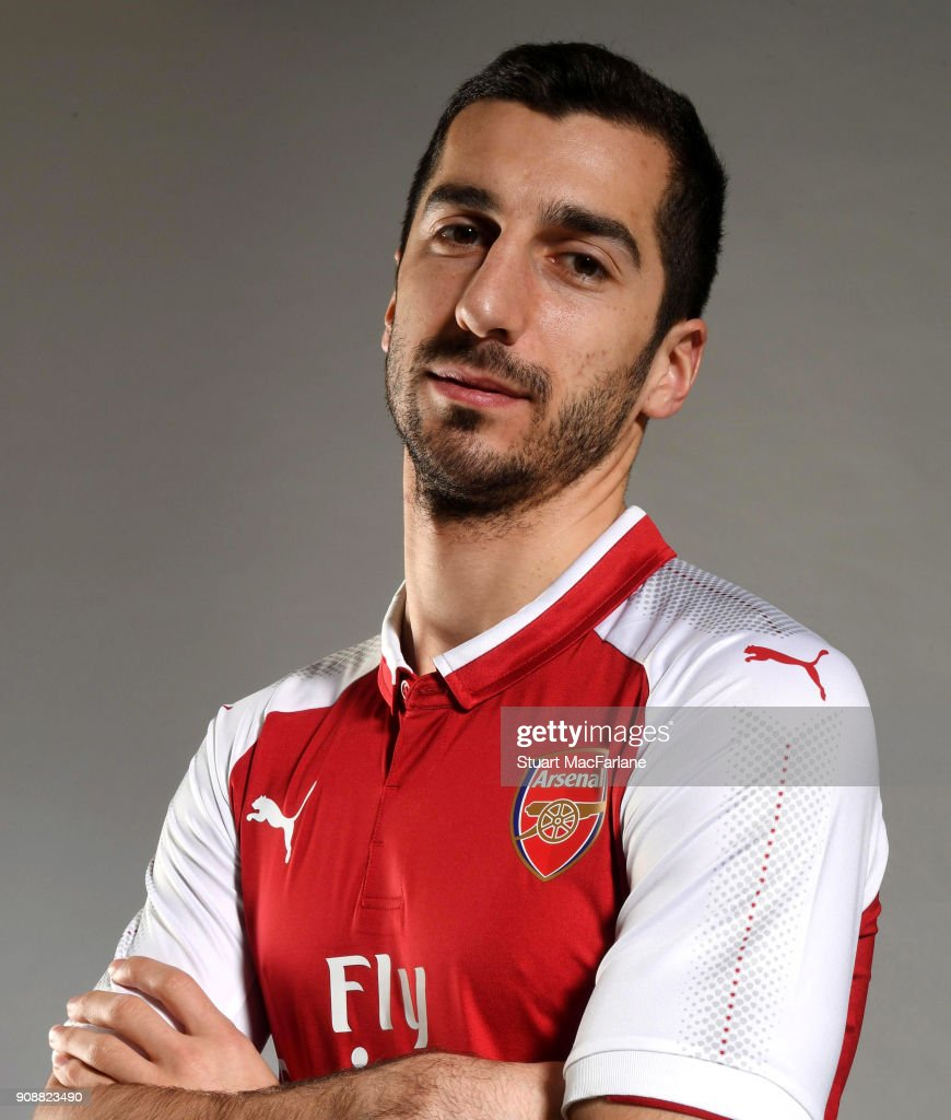 Arsenal Unveil New Signing Henrikh Mkhitaryan