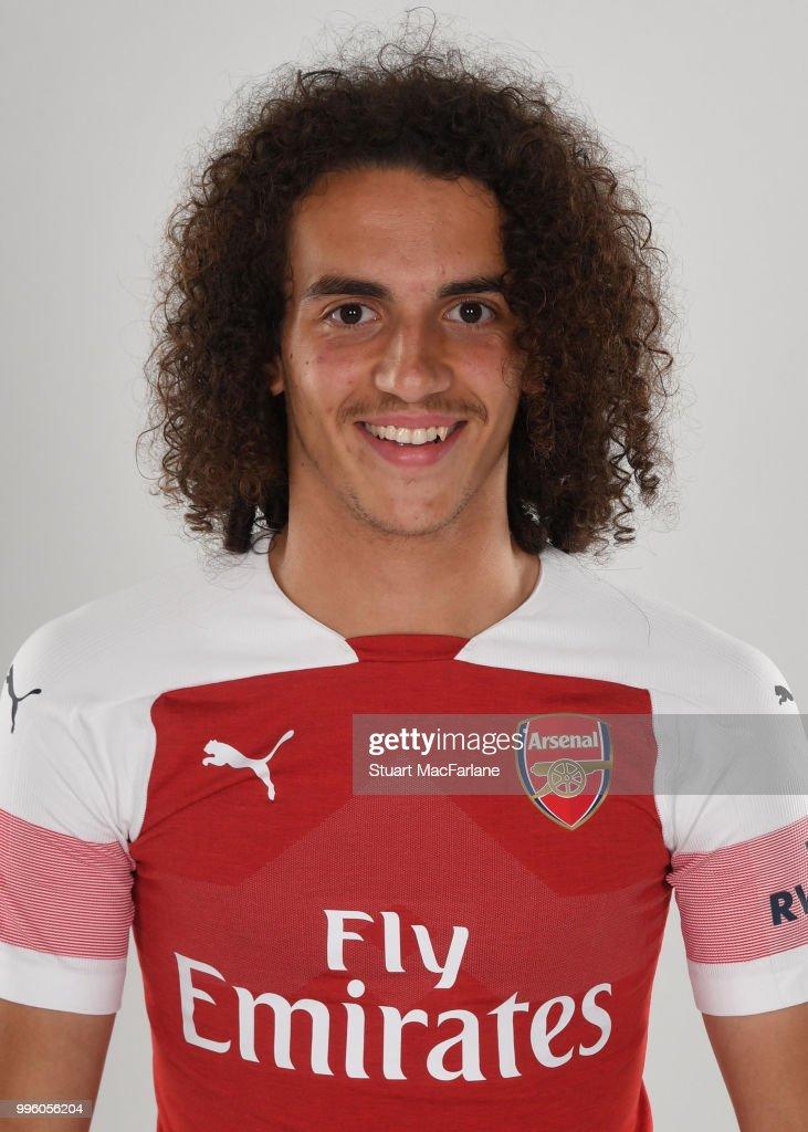 Arsenal Unveil New Signing Matteo Guendouzi
