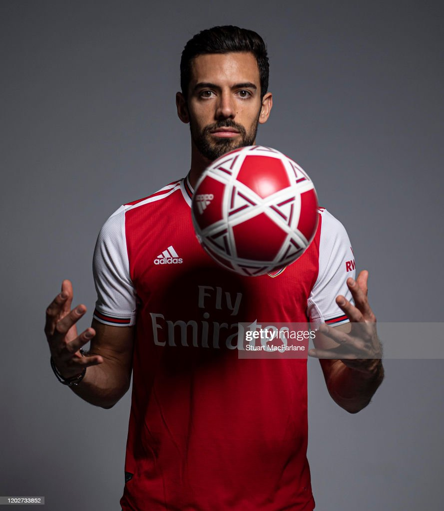 Arsenal Unveil New Signing Pablo Mari : News Photo