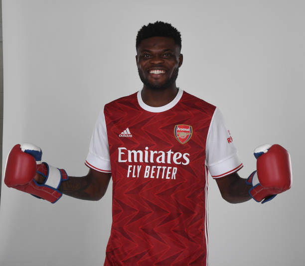 GBR: Arsenal Unveil New Signing Thomas Partey