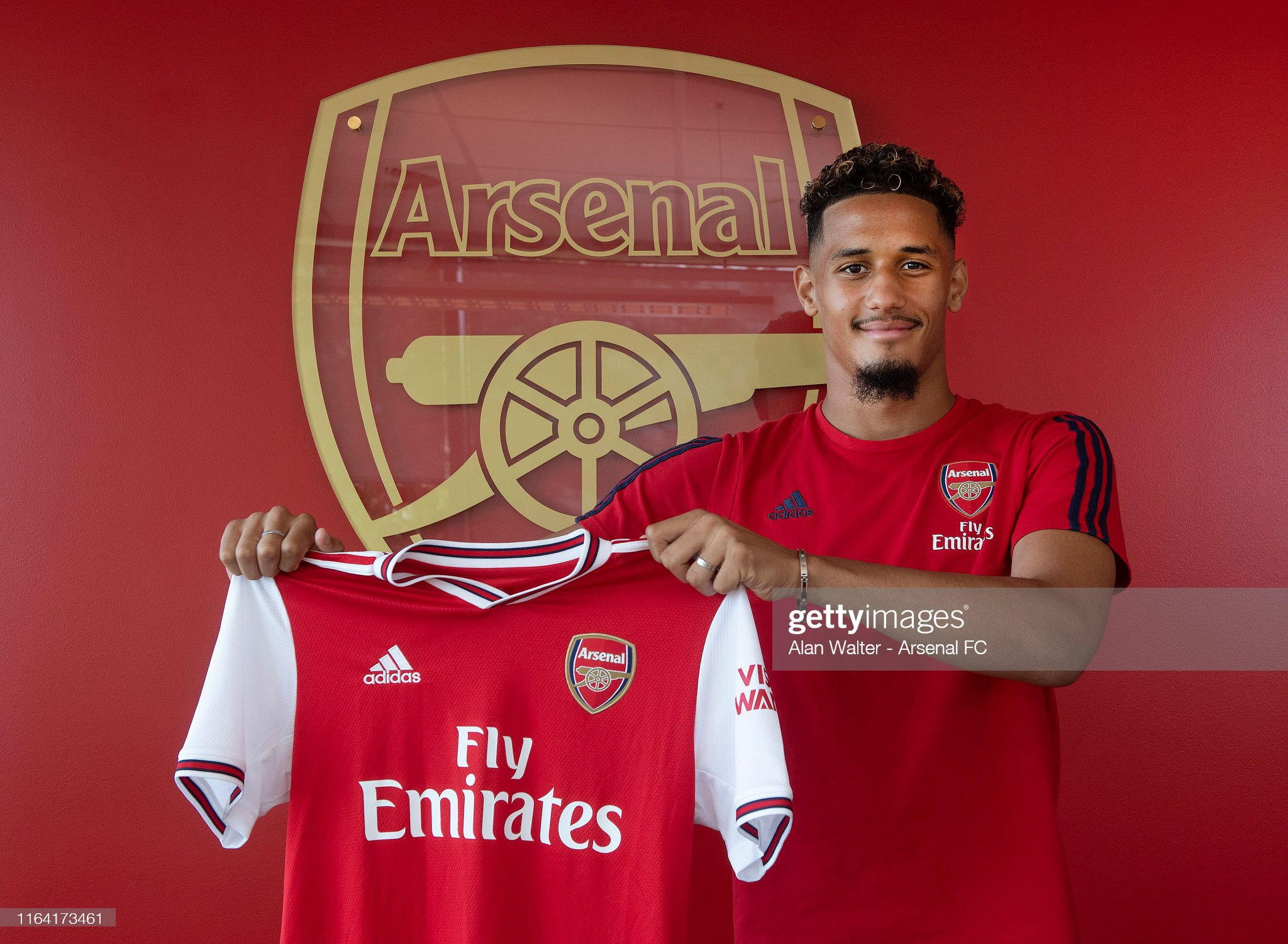 Arsenal Unveil New Signing William Saliba : News Photo