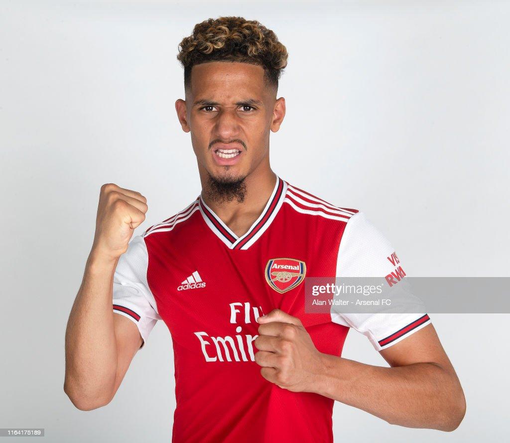Arsenal Unveil New Signing William Saliba : News Photo
