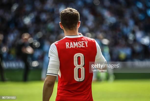 Arsenal v Manchester City Emirates FA Cup Semi Final Wembley Stadium Arsenal's Aaron Ramsey ahead of the FA Cup Semi Final against Manchester City