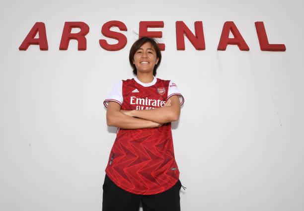 GBR: Arsenal Women Unveil New Signing Mana Iwabuchi