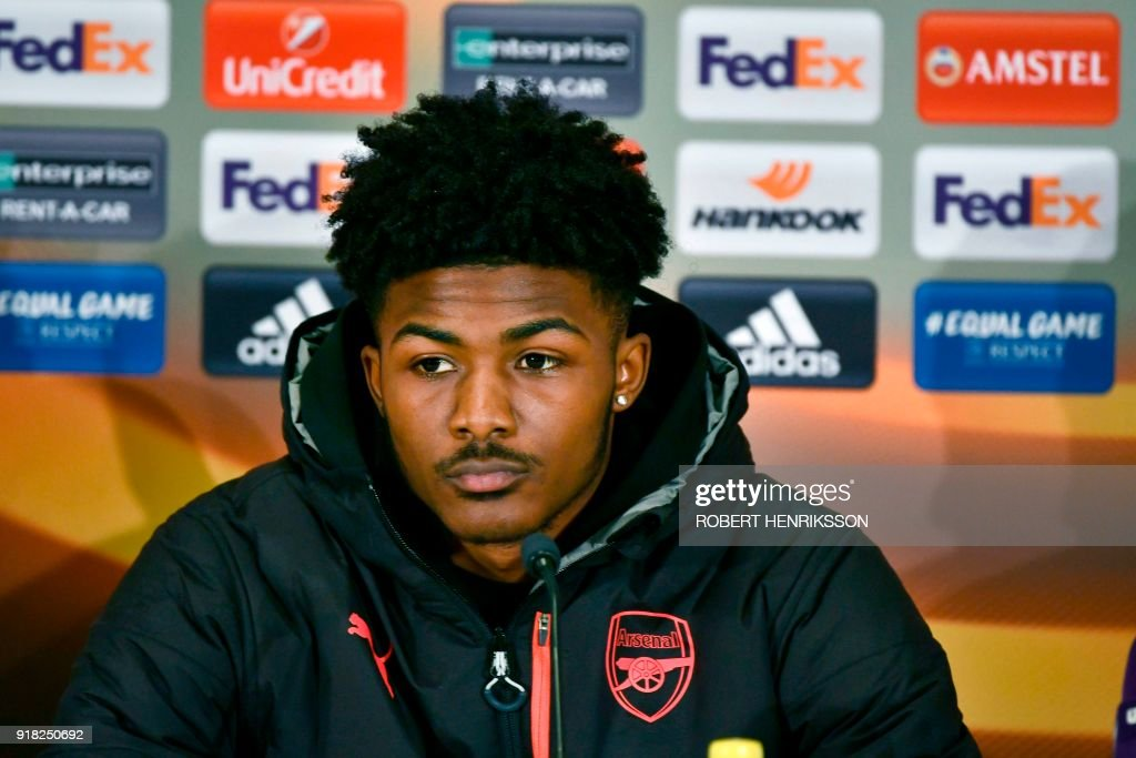 FBL-EUR-C3-ARSENAL-PRESSER : News Photo