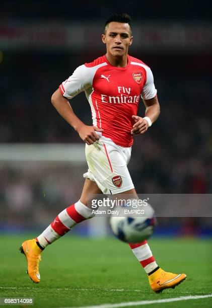 Arsenal's Alexis Sanchez during the game