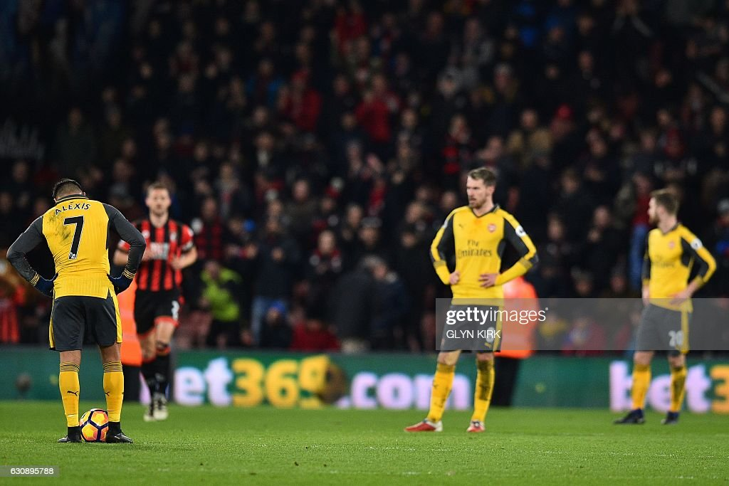 FBL-ENG-PR-BOURNEMOUTH-ARSENAL : News Photo