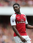 london england arsenals danny welbeck during