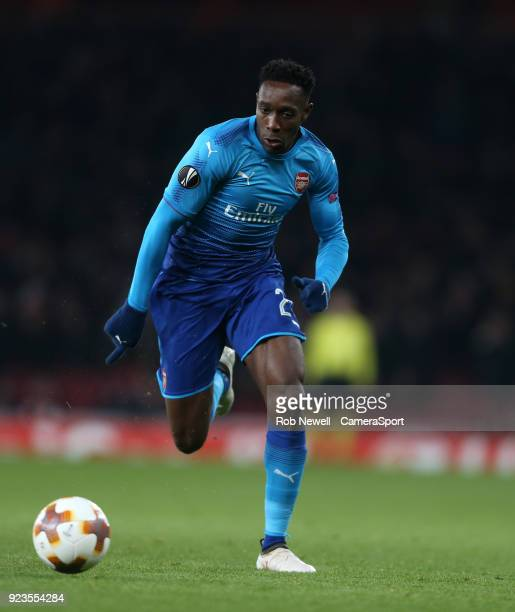 Arsenal's Danny Welbeck during UEFA Europa League Round of 32 Second Leg match between Arsenal and Ostersunds FK at the Emirates Stadium on February...