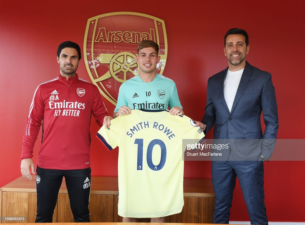 Emile Smith-Rowe Signs a New Contract at Arsenal : News Photo