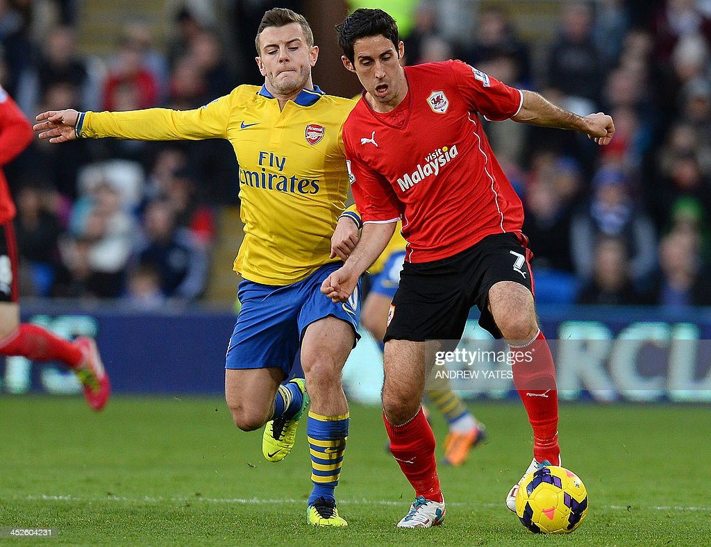 FBL-ENG-PR-CARDIFF-ARSENAL : News Photo