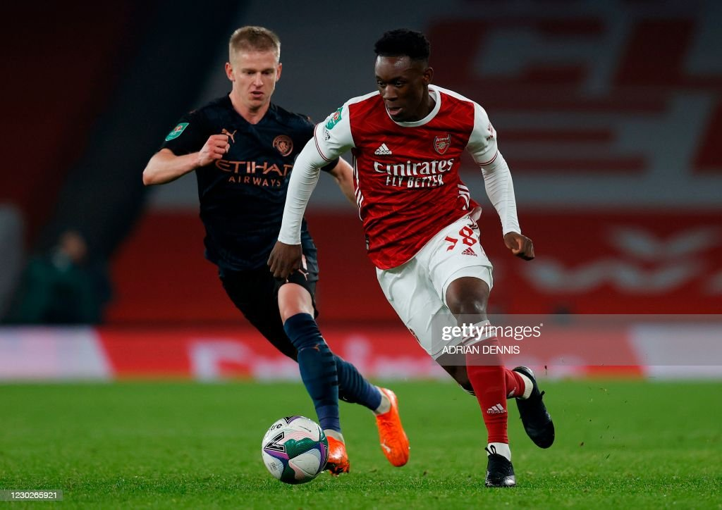 FBL-ENG-LCUP-ARSENAL-MAN CITY : News Photo