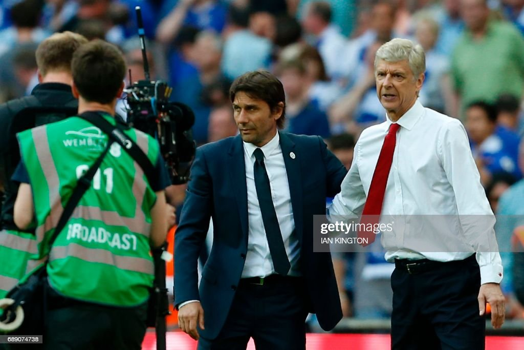 FBL-ENG-FACUP-ARSENAL-CHELSEA : News Photo