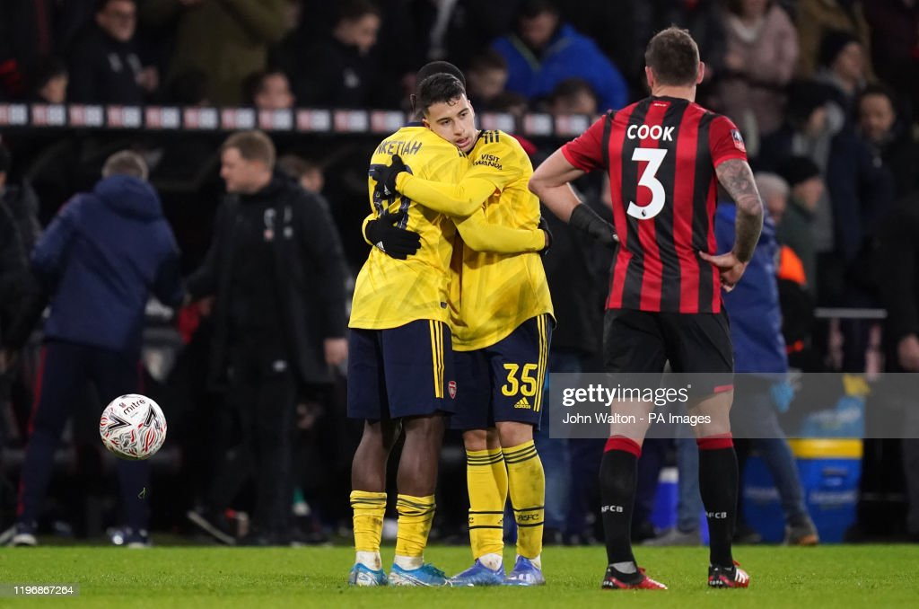 AFC Bournemouth v Arsenal - FA Cup - Fourth Round - Vitality Stadium : News Photo