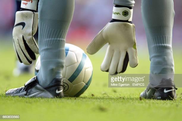Arsenal's goalkeeper Jens Lehmann