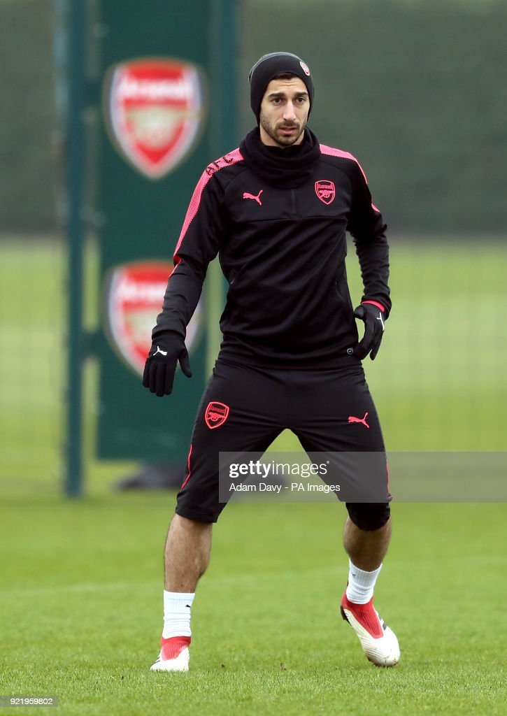 Arsenal Training Session - London Colney : News Photo