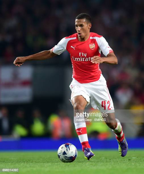 Arsenal's Isaac Hayden during the game