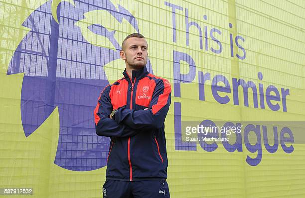 Arsenal's Jack Wilshere at the Premier League Season Launch on August 10 2016 in Islington England