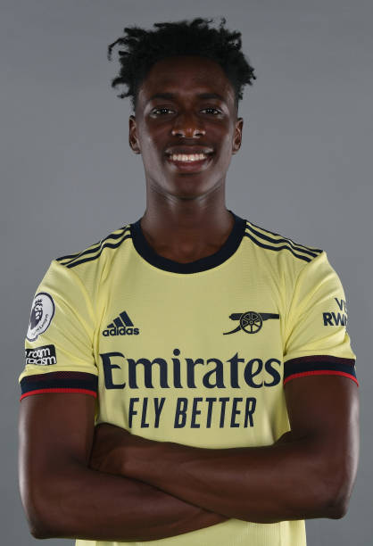 GBR: Arsenal Unveil New Signing Albert Sambi Lokonga