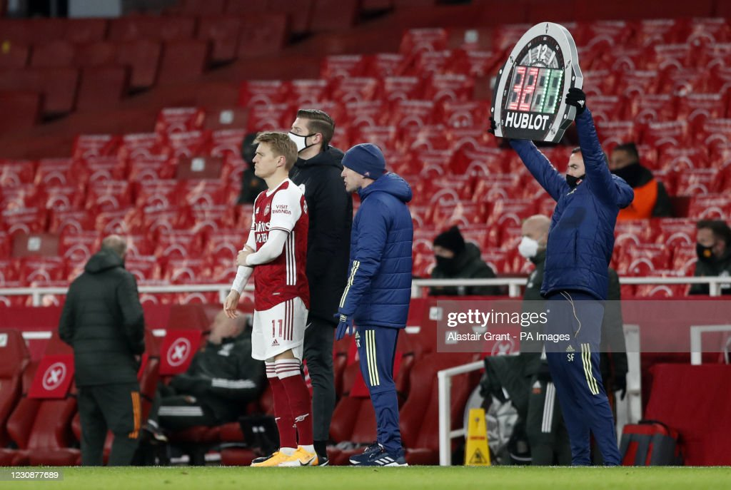 Arsenal v Manchester United - Premier League - Emirates Stadium : News Photo