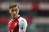 london england arsenals mesut ozil during