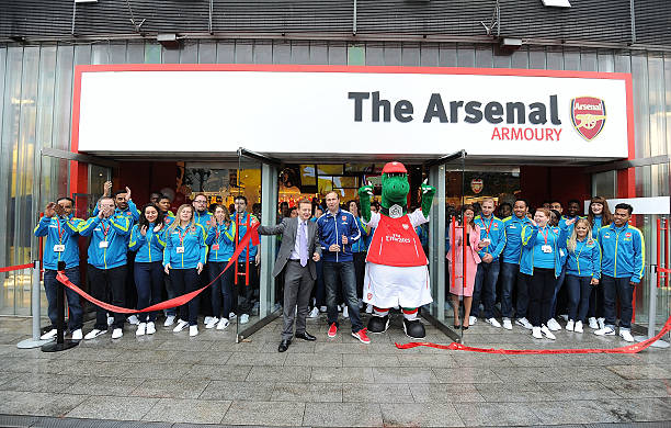 15ca35546cb arsenal store opening photos and images   getty images