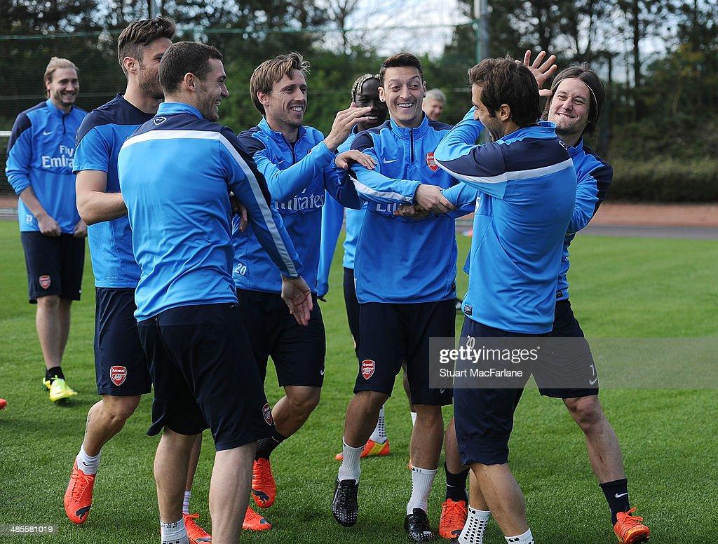 Arsenal FC Training Session : ニュース写真