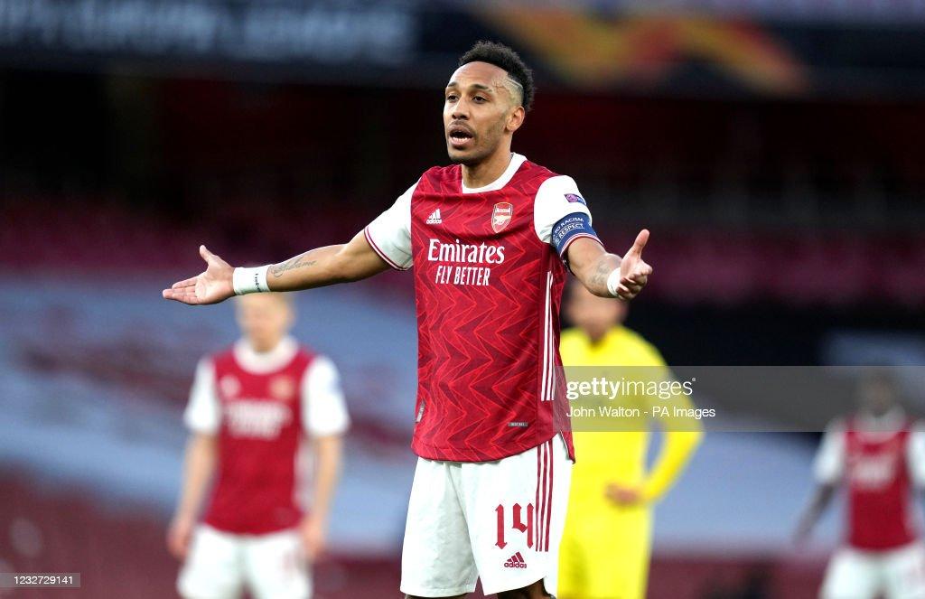 Arsenal v Villarreal - UEFA Europa League - Semi Final - Second Leg - Emirates Stadium : News Photo