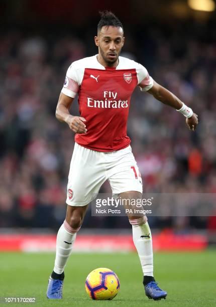 Arsenal's PierreEmerick Aubameyang
