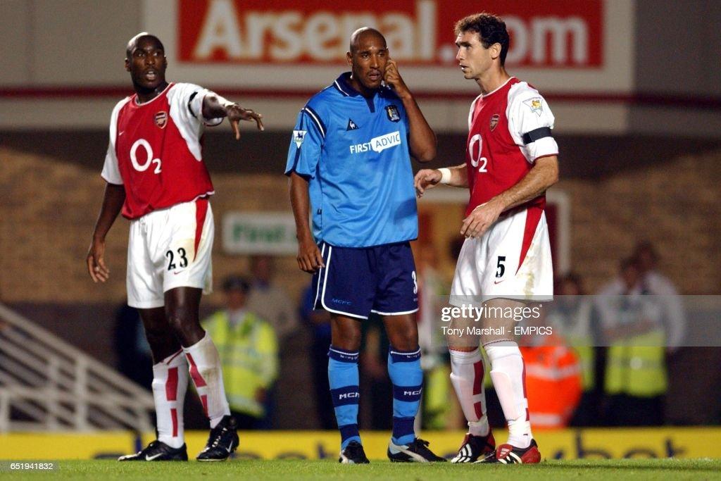 Soccer - FA Barclaycard Premiership - Arsenal v Manchester City : News Photo