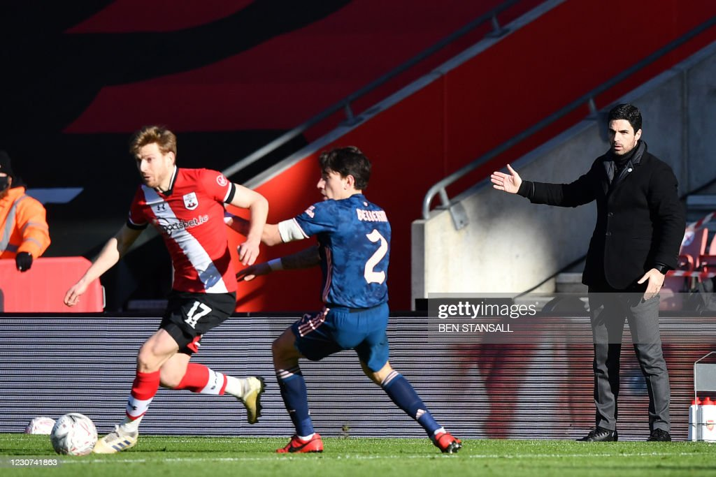 FBL-ENG-FA CUP-SOUTHAMPTON-ARSENAL : News Photo
