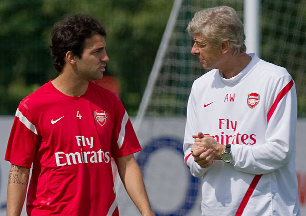 Pure class: Cesc Fabregas pays ultimate tribute to Arsene Wenger