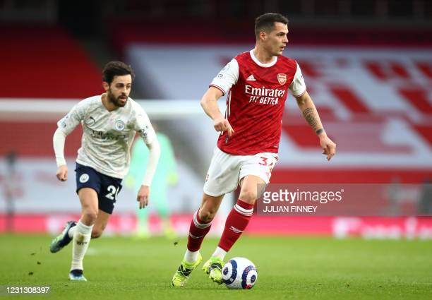 Granit Xhaka Pictures and Photos - Getty Images