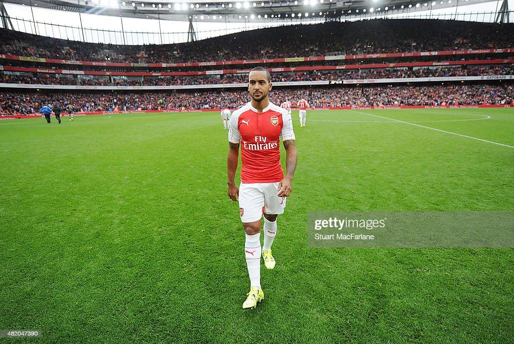 Arsenal v VfL Wolfsburg - Emirates Cup : News Photo