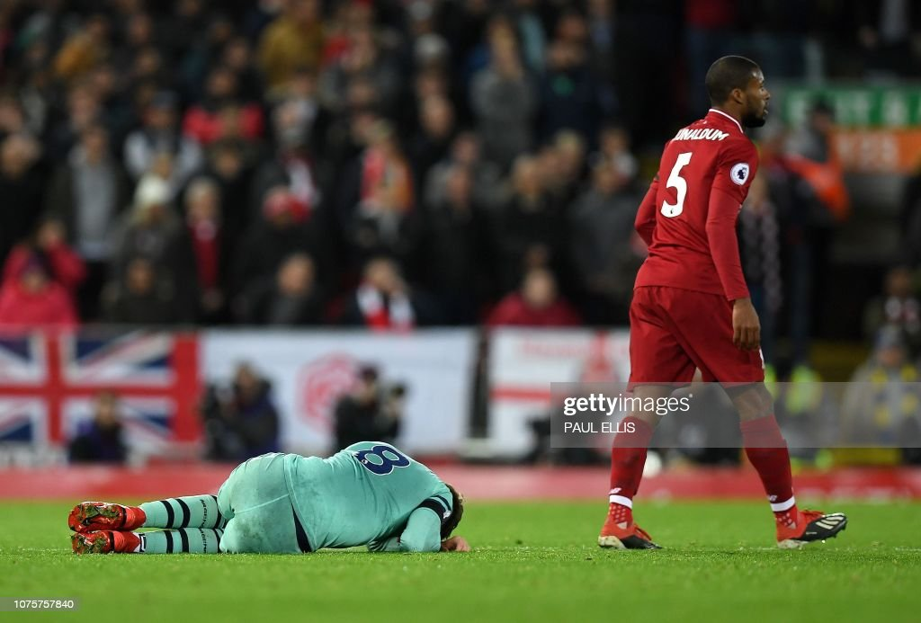 FBL-ENG-PR-LIVERPOOL-ARSENAL : News Photo