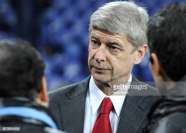 Arsene Wenger FC Porto / Arsenal 1/8 de Finale de la Ligue des Champions League Stade du Dragon
