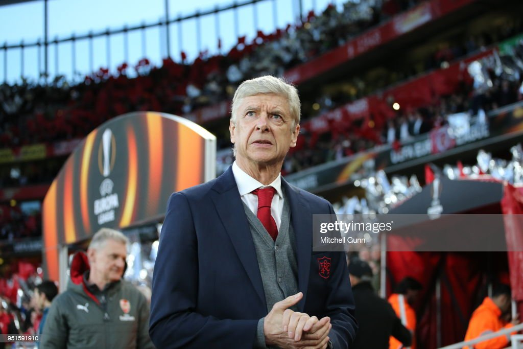 Arsenal FC v Atletico Madrid - UEFA Europa League Semi Final Leg One : News Photo