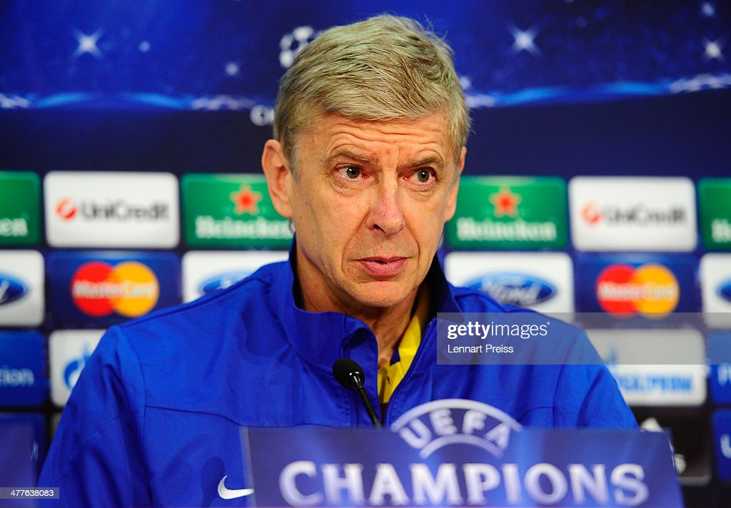 Arsenal Press Conference : News Photo