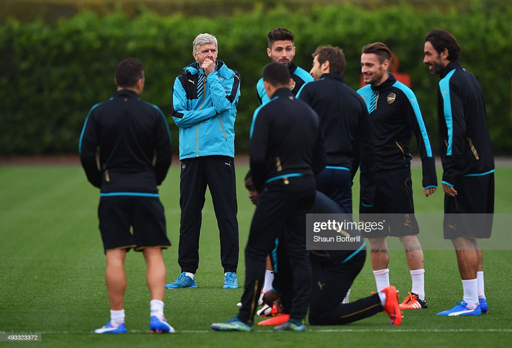 Arsenal Training Session : ニュース写真