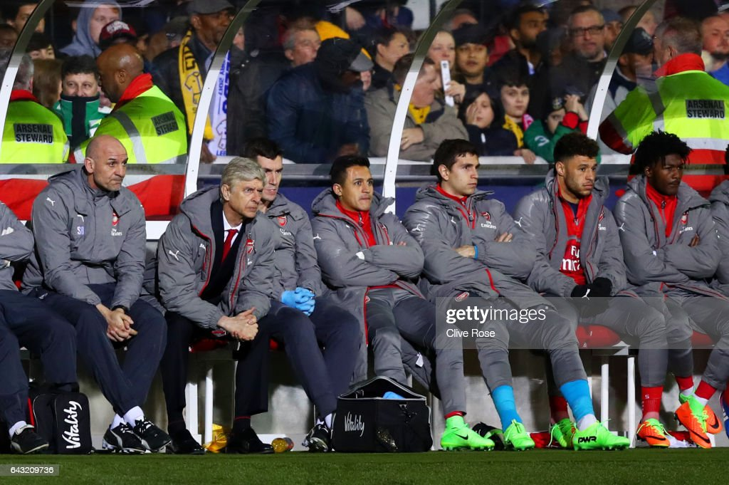 Sutton United v Arsenal - The Emirates FA Cup Fifth Round : News Photo
