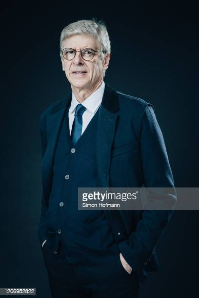 Arsene Wenger poses during the 2020 Laureus World Sports Awards on February 17 2020 in Berlin Germany