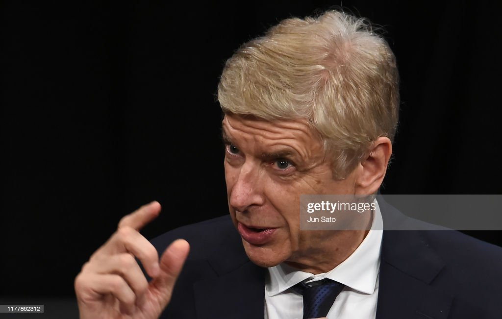 Arsene Wenger Press Conference : News Photo